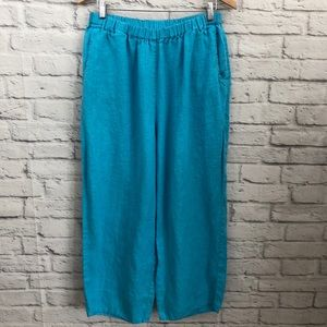 FLAX Linen Cropped Pants